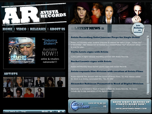 http://www.avistarecords.com
