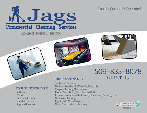 janitorial business cards